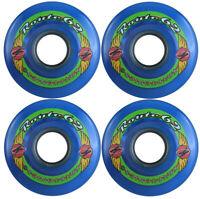 KRYPTONICS ROUTE 62MM 78A BLUE Longboard Cruiser Skateboard Wheels