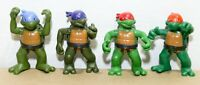 "Teenage Mutant Ninja Tutrles TMNT 3"" 2004 Toddler Playmates Toy / Figure Lot (4)"