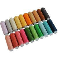 PERLE COTTON THREAD SET B 20 COLORS 75 YD SPOOL SIZE 8 PEARL THREADART