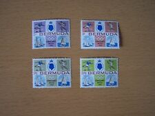 BERMUDA 1968,OLYMPIC GAMES,MEXICO,4VALS COMPLETE SET,U/MINT.