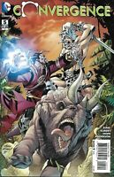 Convergence Comic Issue 5 Cover A First Print 2015 King Kubert Hope Anderson DC