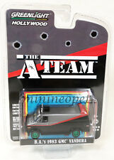 Greenlight 44790 B Hollywood The A Team 1983 Gmc Vandura 1/64 Grey Black Chase