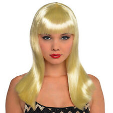 BLONDE ELECTRA WIG for ADULTS ~ Birthday Halloween Party Supplies Costume Women