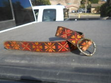 "Vintage Bechelli Cloth Hippy style cloth  BELT   33"" long"