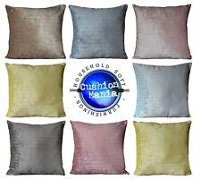 "Cushion cover or cushion soft velour velvet effect DOTS Chenille  17"" x 17"""