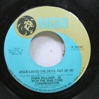 Country 45 Hank Williams Jr. With The Mike Curb Congregation - Jesus Loved The D