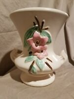 """Vintage McCoy """"Blossom Time"""" Footed Vase with 2 Handles"""