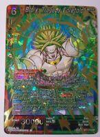 Broly, Tragedy Foretold - Dragon Ball Super CCG NM/M BT7-115 SR