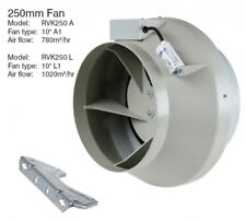 """Systemair RVK A1 Fan 10"""" (250mm)  - 780m3/hr Extraction Fan"""