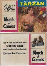 MARCH OF COMICS 172 TARZAN RARE GIVEAWAY PROMO VG+ 1958 MINI PROMOTION