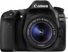 Canon EOS 80d SLR-Fotocamera digitale 24,2mp incl. EFS 18-55mm NERO-BUONO STATO