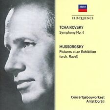 Tchaikovsky: Symphony 4 / Mussorgsky: Pictures At An Exhibition [New CD] Austr