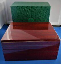 Vintage Rolex Wooden Watch Box Case #81.00.71 DAYTONA ZENITH COSMOGRAPHS New