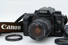 Exc+++++ Canon EOS55 black W/Zoom EF 28-80mm F/3.5-5.6 IV Full Set from Japan