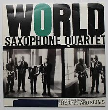 World Saxophone Quartet RARE Elektra Late Vinyl LP 1989