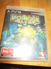 Pre-owned Playstation 3 game PS3 Bioshock 2 manual