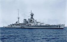 HMS HOOD - HER CREW, ARMAMENT AND TRAVELS AROUND THE WORLD - ROYAL NAVY