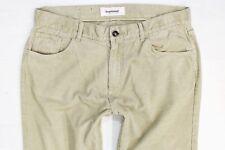 Mens Dressmann Manchester beige corduroy jeans W36 L32