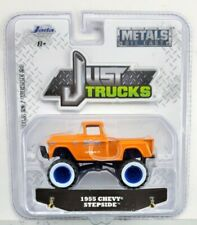 Jada Toys 1955 Chevy Stepside 2019 1/64 Scale Just Trucks