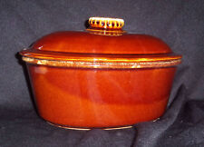 Hull Pottery 2 Quart Oval Casserole with Lid