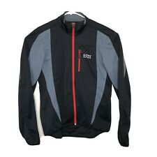 Gore Bike Wear Mens Size XL Windstopper Jacket Black Cycling Outdoors Soft Shell