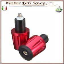 Contrappesi manubrio Moto Bar End Moto Guzzi Scooter Maxi Piaggio Rosso M35