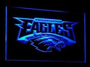 Philadelphia Eagles LED Neon Sign Light NFL Football