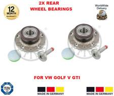 pour VW Golf Mk 5 2.0 Turbo GTi ROULEMENT DE ROUE ARRIÈRE x 2