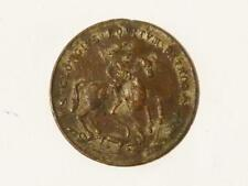 More details for antique brass metal contemporary counterfeit medal george iv #f3*