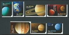 AUSTRALIA 2015 OUR SOLAR SYSTEM SET OF 8 UNMOUNTED MINT