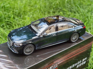 Norev 1/18 Benz S600 W223 2021 Diecast Car Model Gifts White/Black/Green/Grey