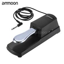 ammoon Piano Keyboard Sustain Damper Pedal for Roland Electric Piano H1F3