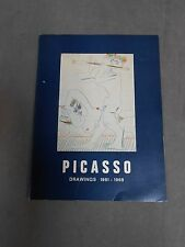 Vintage Picasso Drawings 1961-1968 Softcover Book