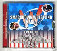 SMACKDOWN WRESTLING MANIA CD COMPILATION My sharona The final countdown ...