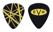 Eddie Van Halen Black/Yellow Frankenstrat Guitar Pick - 2012 Tour