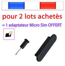 Cache poussière Bouchon Capuchon iPHONE 3G GS 4 4S iPAD iPOD iTOUCH sim dock usb