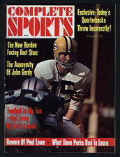 1968 COMPLETE SPORTS MAGAZINE ~ BART STARR OF THE GREEN BAY PACKERS +
