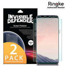 Galaxy S8 S8 Plus Genuine Ringke Soft Full Coverage Screen Protector for Samsung