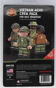 Brickmania Vietnam ACAV Crew Add-on Pack - SOLD OUT - NEW Custom Minifigures