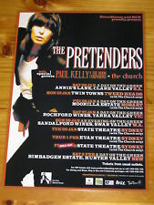 THE PRETENDERS - PAUL KELLY - THE CHURCH - Australian Tour - Laminated Poster