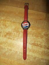 advertising Drink Pepsi-Cola bottle cap face soda pop watch,pepsico inc.Japan