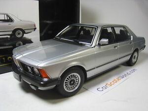 BMW 7 SERIES E23 (733i) 1/18 KK SCALE (SILVER METALLIC)