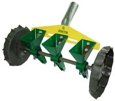 Garden Metal Precision Seeder Vegetable 3 Row Manual Planter sowing small seeds/