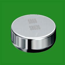 8x SR66 AG4 606 SR626 1.55v Oxyde d'argent pile bouton montre de rechange