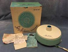 Vintage Lady Sunbeam Manicurist blue teal model Ms-1 W/box & Instructions