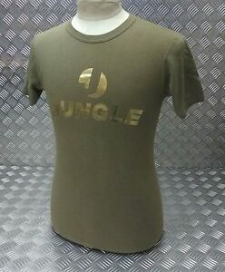 "Genuine Military Issue Cotton T - Shirt Printed Front ""Jungle"" Bling Unisex Fit"