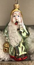 Very Rare Polonaise Christmas Collectible Glass Ornament Poland Sleepy Nib