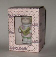 1985 Ceramic3-D Christmas Ornament NIB Dolly Caroling Family Circus By Bil Keane