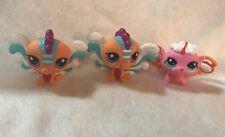 Littlest Pet Shop LPS Fairies Pink Blue Peach Lot