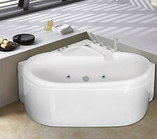 Vasca idromassaggio 125x125 angolare da bagno con cromoterapia full optional | 8